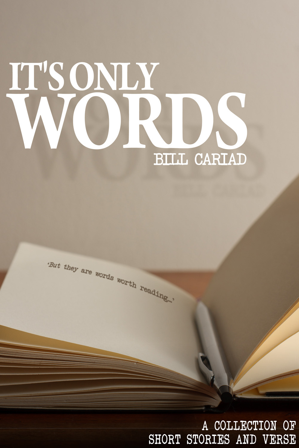 Cariad, Bill - It's Only Words, ebook