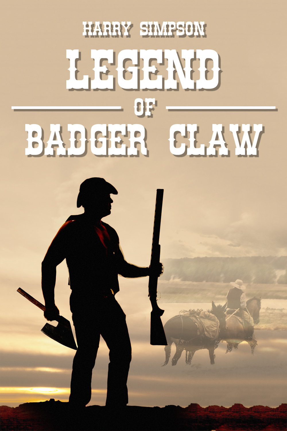 Simpson, Harry - Legend of Badger Claw, ebook