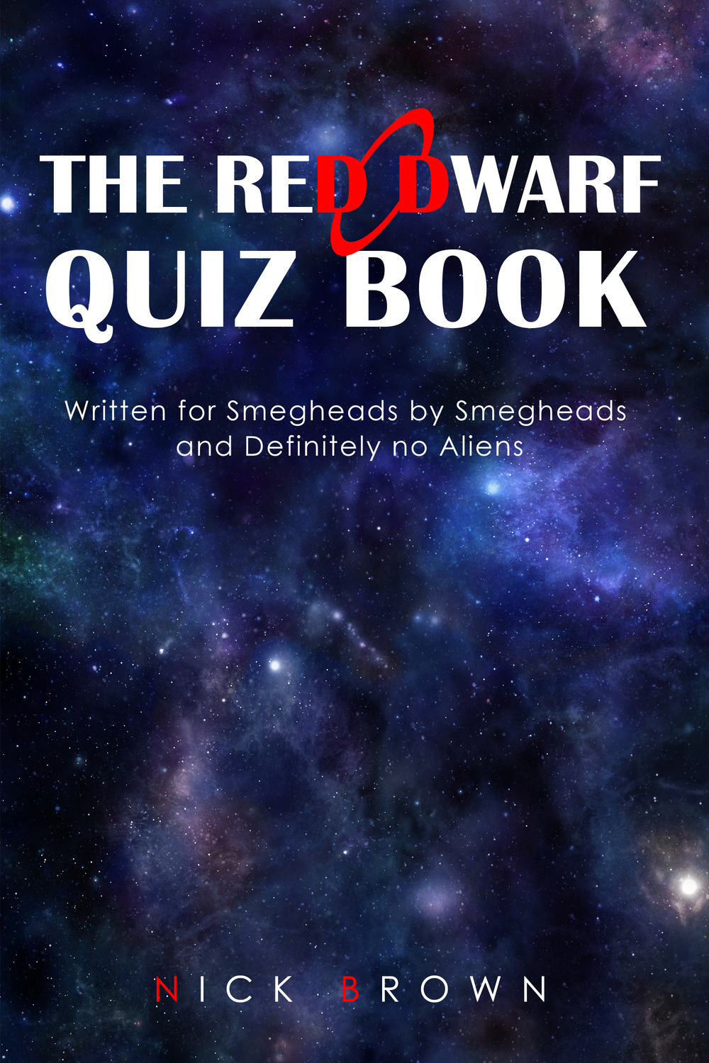 Brown, Nick - The Red Dwarf Quiz Book, ebook