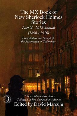 Marcum, David - The MX Book of New Sherlock Holmes Stories - Part X, ebook