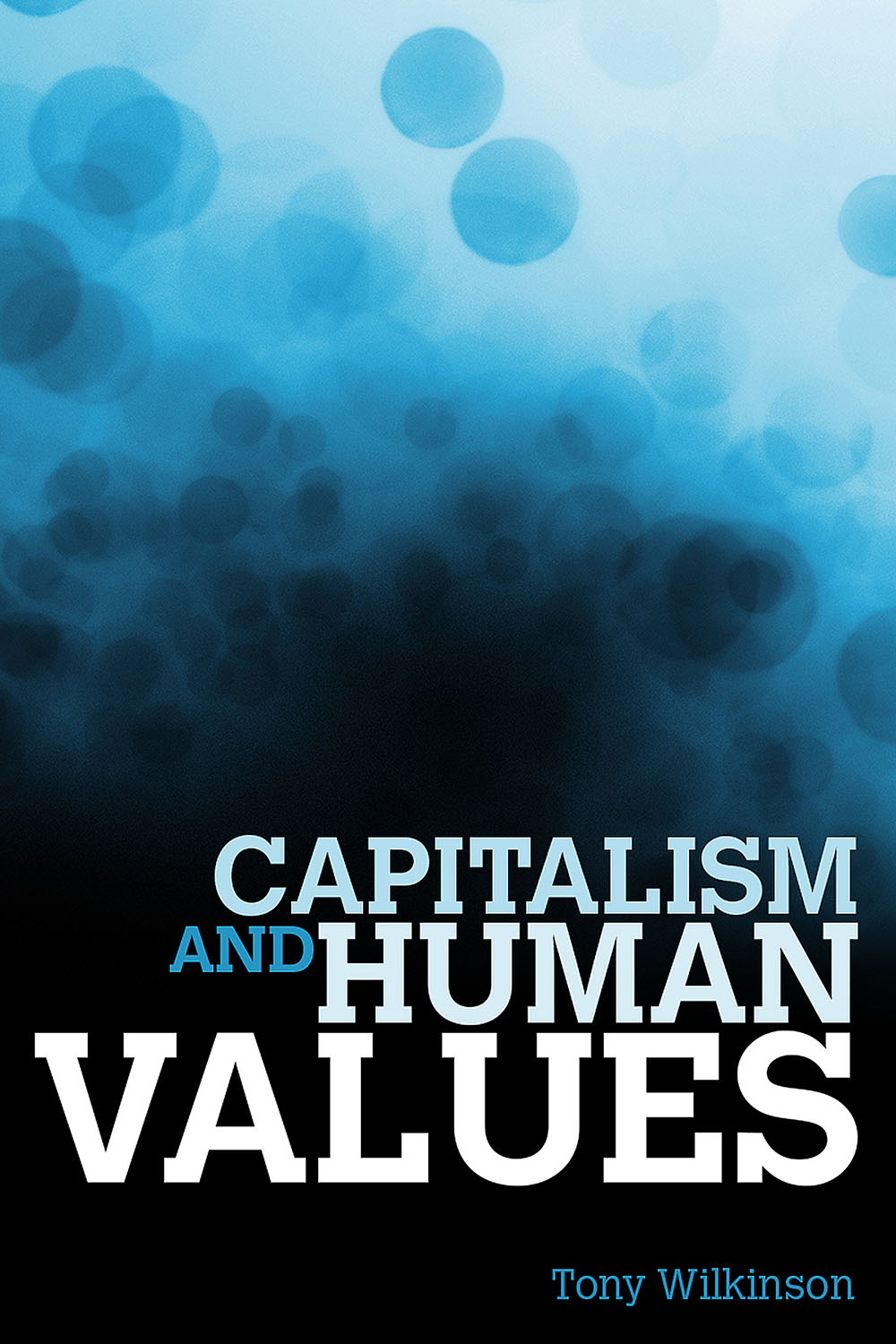 Wilkinson, Tony - Capitalism and Human Values, ebook