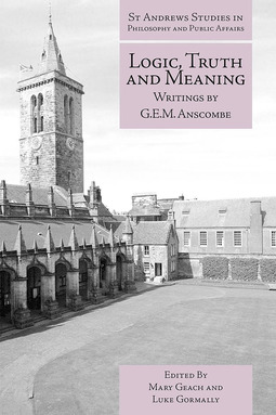 Geach, Mary - Logic, Truth and Meaning, ebook