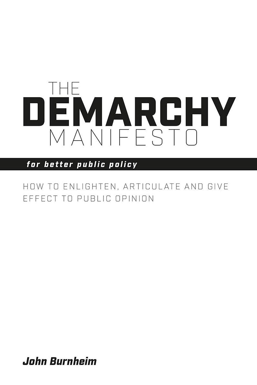 Burnheim, John - The Demarchy Manifesto, ebook