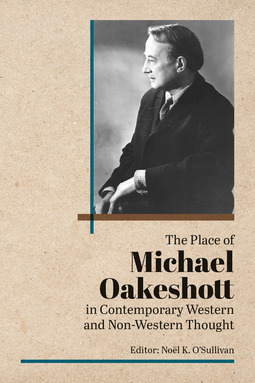O'Sullivan, Noel - The Place of Michael Oakeshott in Contemporary Western and Non-Western Thought, ebook