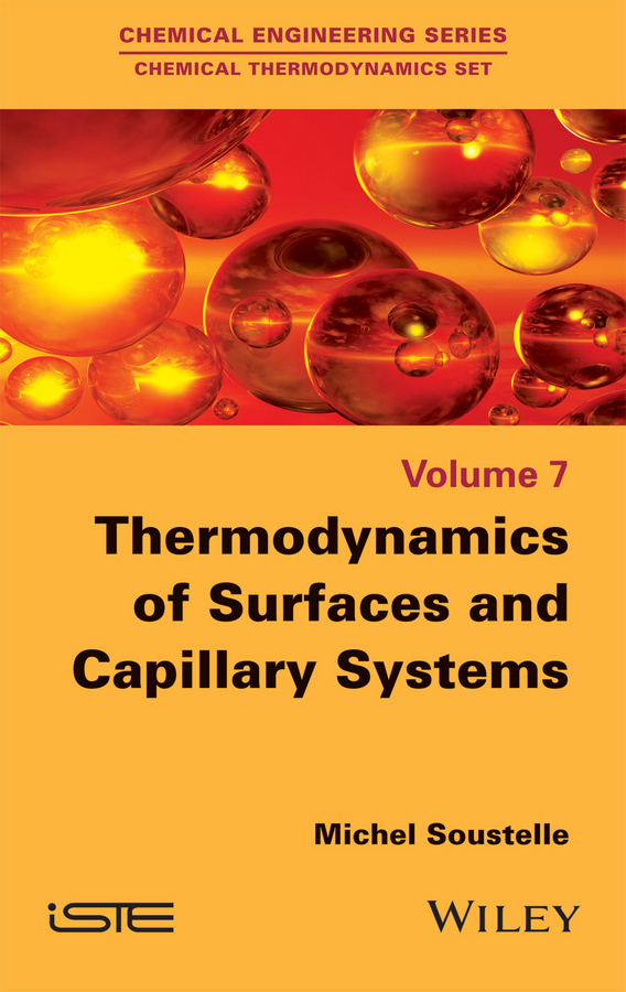 Soustelle, Michel - Thermodynamics of Surfaces and Capillary Systems, ebook