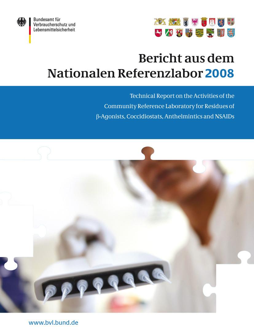 - Bericht aus dem Nationalen Referenzlabor des BVL für das Jahr 2008, ebook