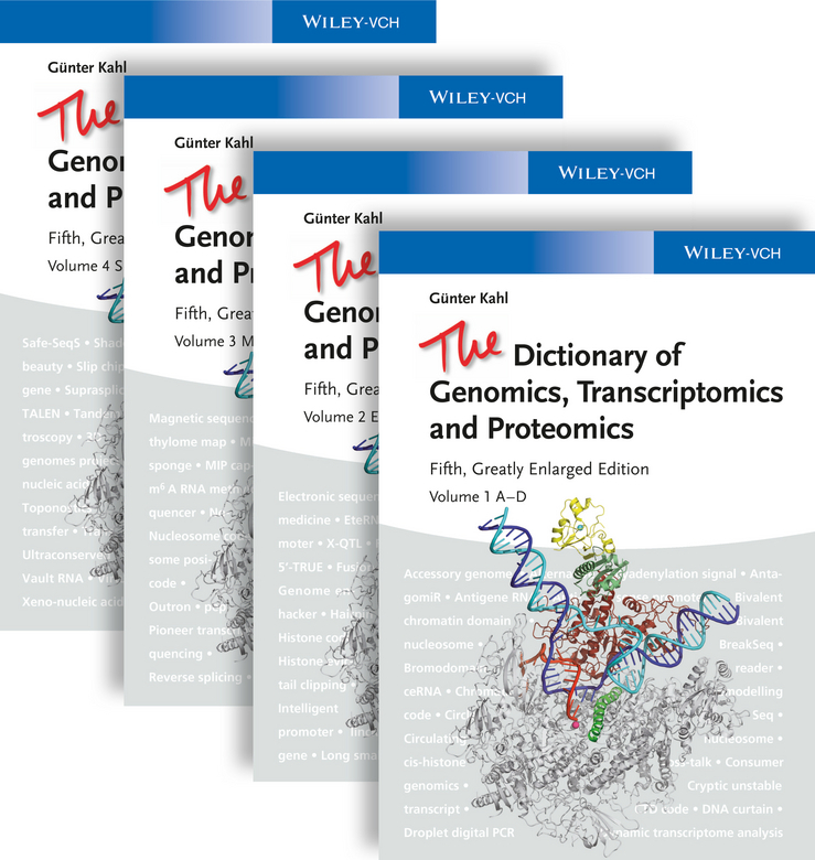 Kahl, Guenter - The Dictionary of Genomics, Transcriptomics and Proteomics, ebook