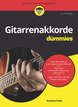 Polin, Antoine - Gitarrenakkorde für Dummies, ebook