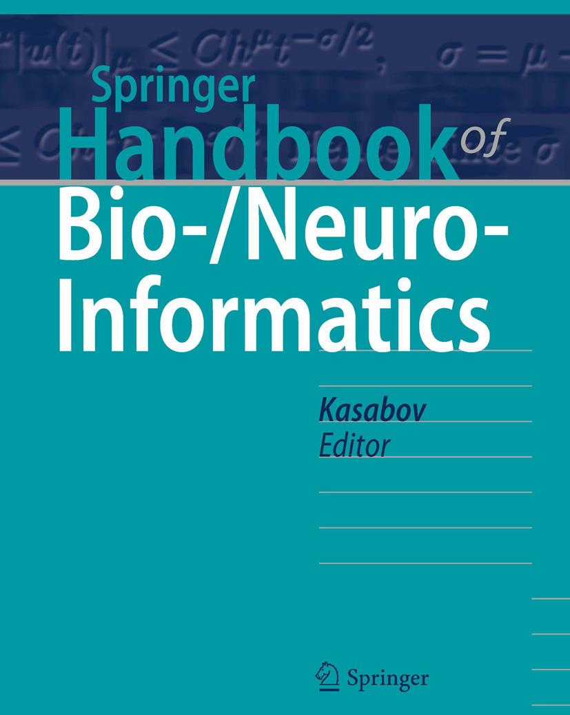 Kasabov, Nikola - Springer Handbook of Bio-/Neuroinformatics, ebook