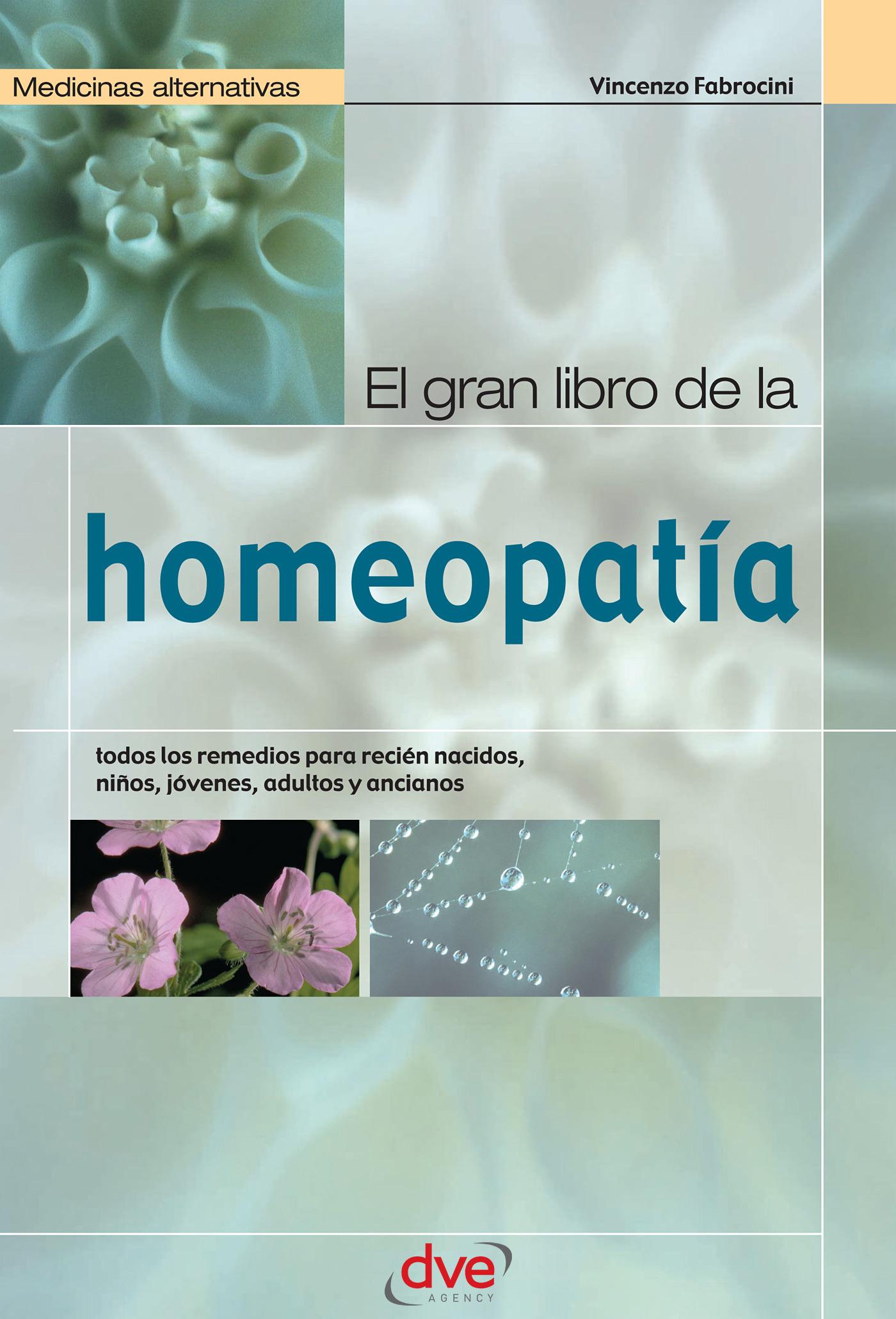 Fabrocini, Vincenzo - El gran libro de la homeopatía, ebook