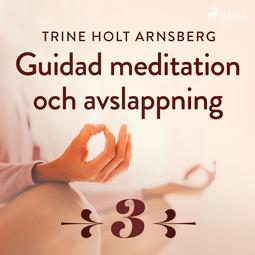 Arnsberg, Trine Holt - Guidad meditation och avslappning - Del 3, äänikirja