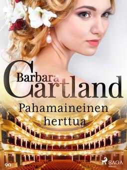 Cartland, Barbara - Pahamaineinen herttua, e-kirja