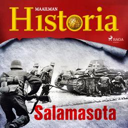 Puhakka, Jussi - Salamasota, äänikirja