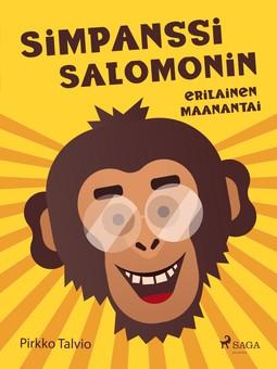 Talvio, Pirkko - Simpanssi Salomonin erilainen maanantai, e-kirja