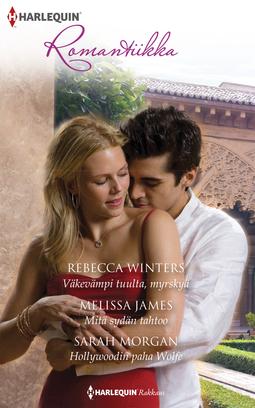 James, Melissa - Väkevämpi tuulta, myrskyä / Mitä sydän tahtoo / Hollywoodin paha Wolfe, e-kirja