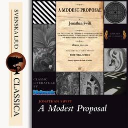 Swift, Jonathan - A Modest Proposal, audiobook
