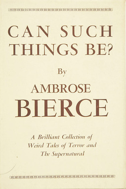 Bierce, Ambrose - Can such things be?, ebook