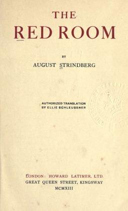 Strindberg, August - The Red Room, ebook