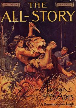 Burroughs, Edgar Rice - Tarzan of the Apes, ebook