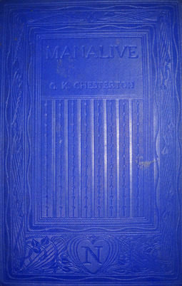 Chesterton, G.k. Chesterton - Manalive, ebook