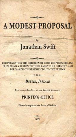 Swift, Jonathan - A Modest Proposal, ebook