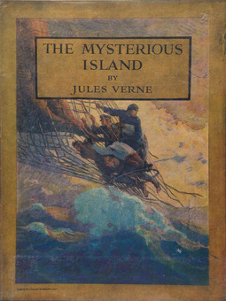 Verne, Jules - The Mysterious Island, ebook