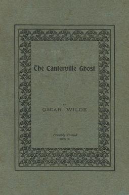 Wilde, Oscar - The Canterville Ghost, ebook