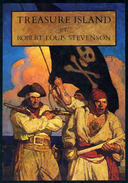 Stevenson, Robert Louis - Treasure Island, ebook