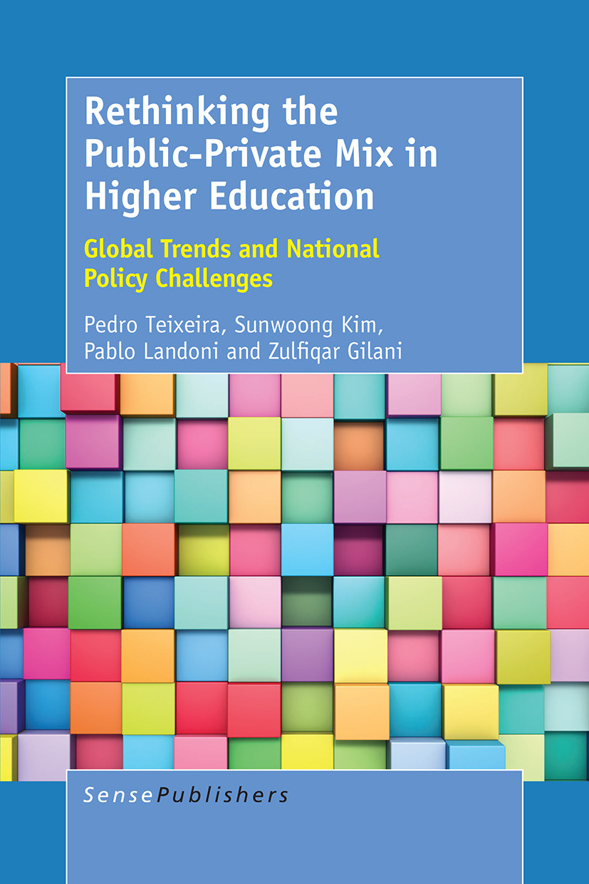 Gilani, Zulfiqar - Rethinking the Public-Private Mix in Higher Education, ebook