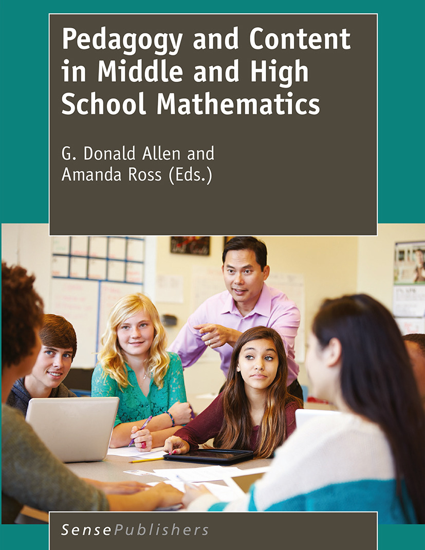 Allen, G. Donald - Pedagogy and Content in Middle and High School Mathematics, ebook