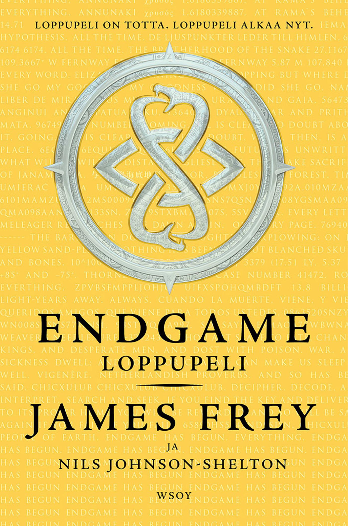 Frey, James - Endgame - Loppupeli, e-kirja