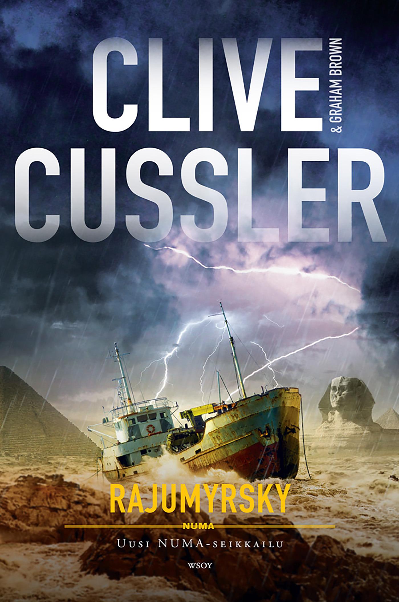 Cussler, Clive - Rajumyrsky, ebook
