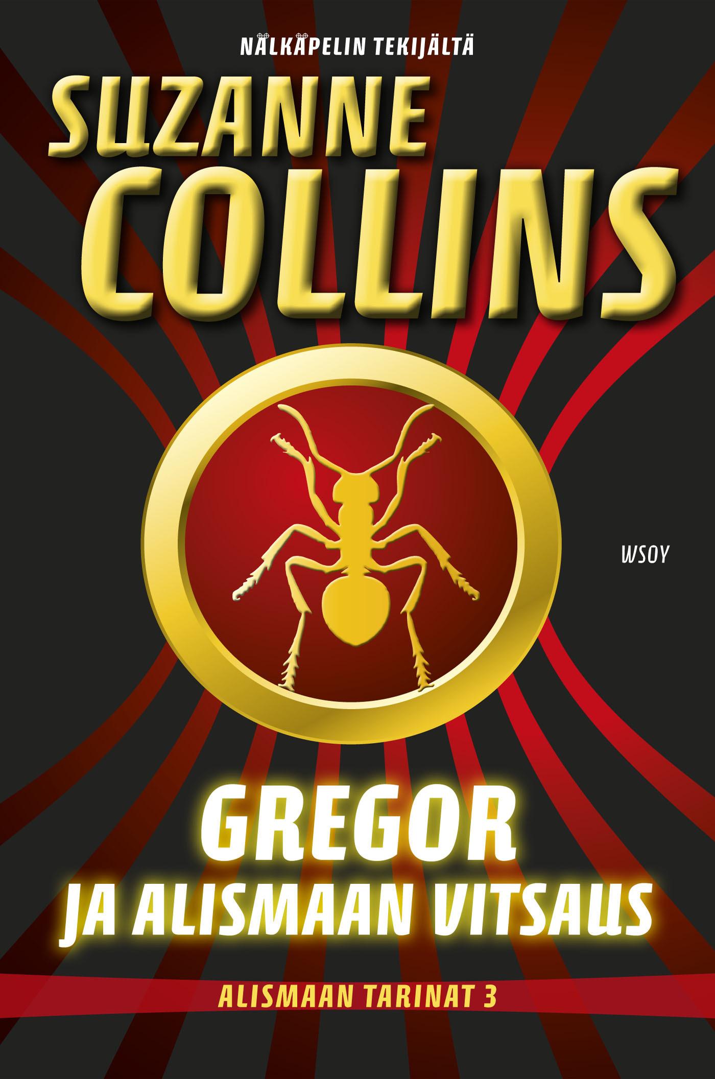 Collins, Suzanne - Gregor ja Alismaan vitsaus, e-kirja
