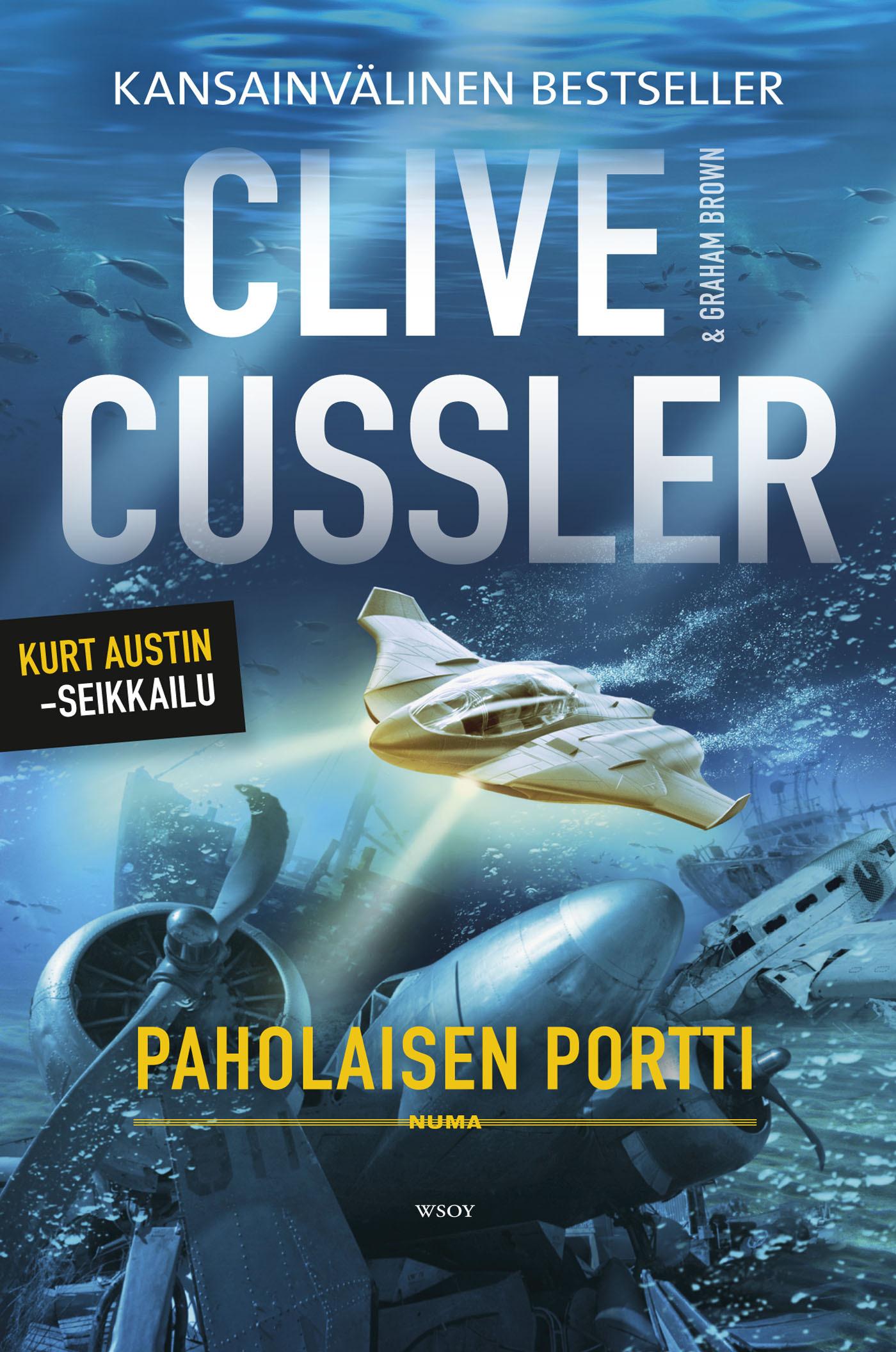 Cussler, Clive - Paholaisen portti, e-kirja
