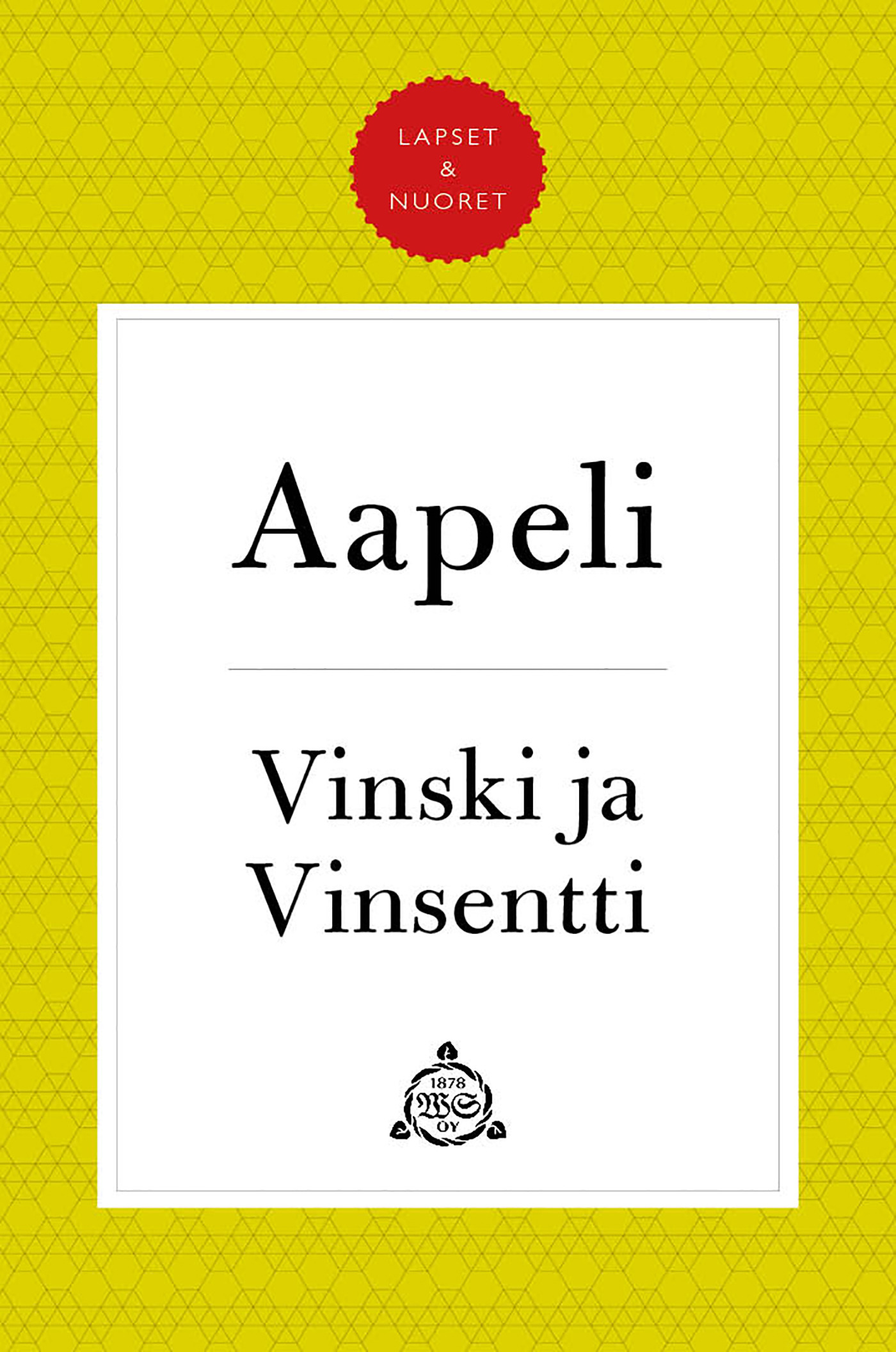 "Puupponen, Simo ""Aapeli"" - Vinski ja Vinsentti, e-kirja"