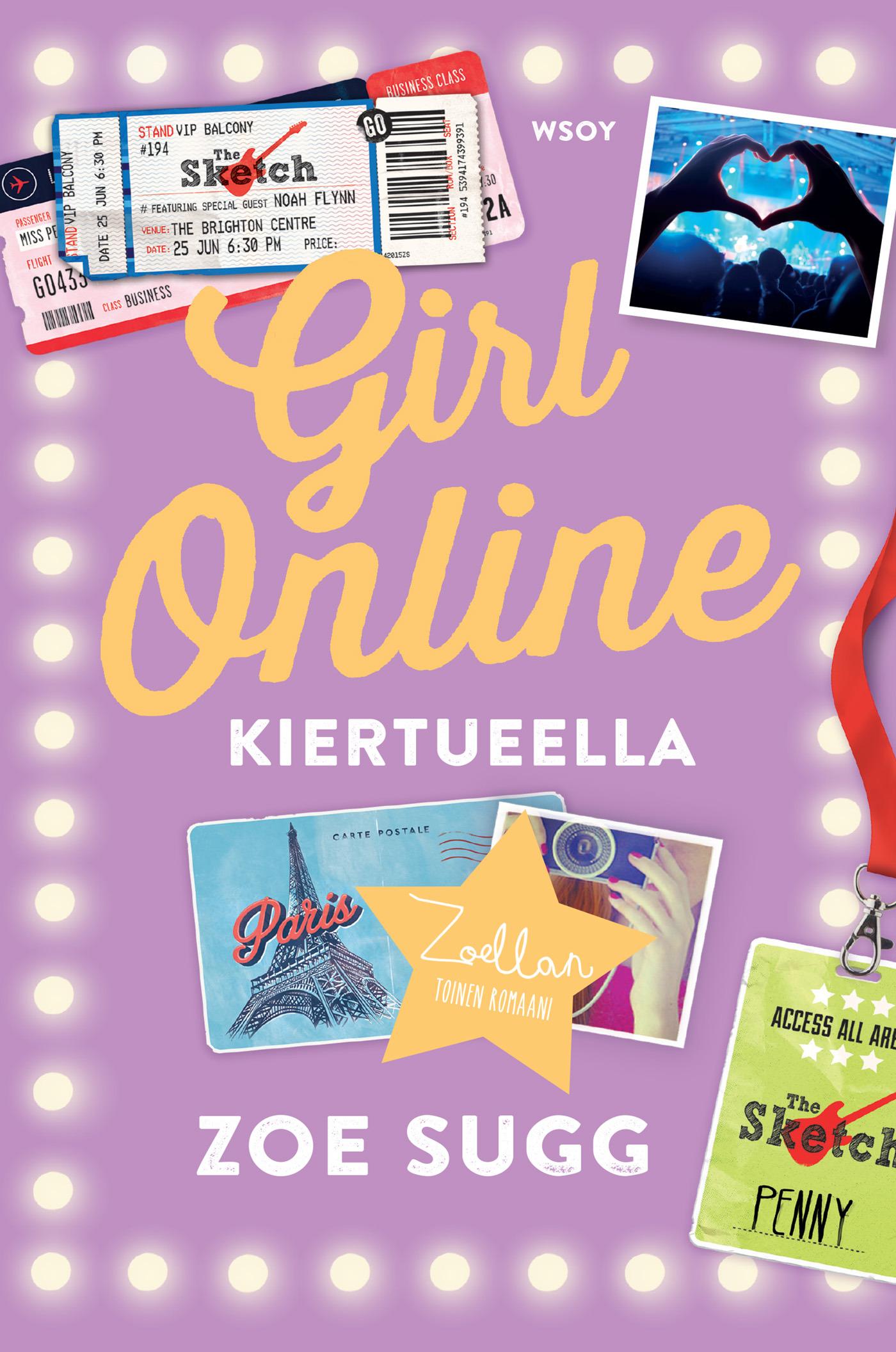 Sugg, Zoe - Girl Online kiertueella, ebook