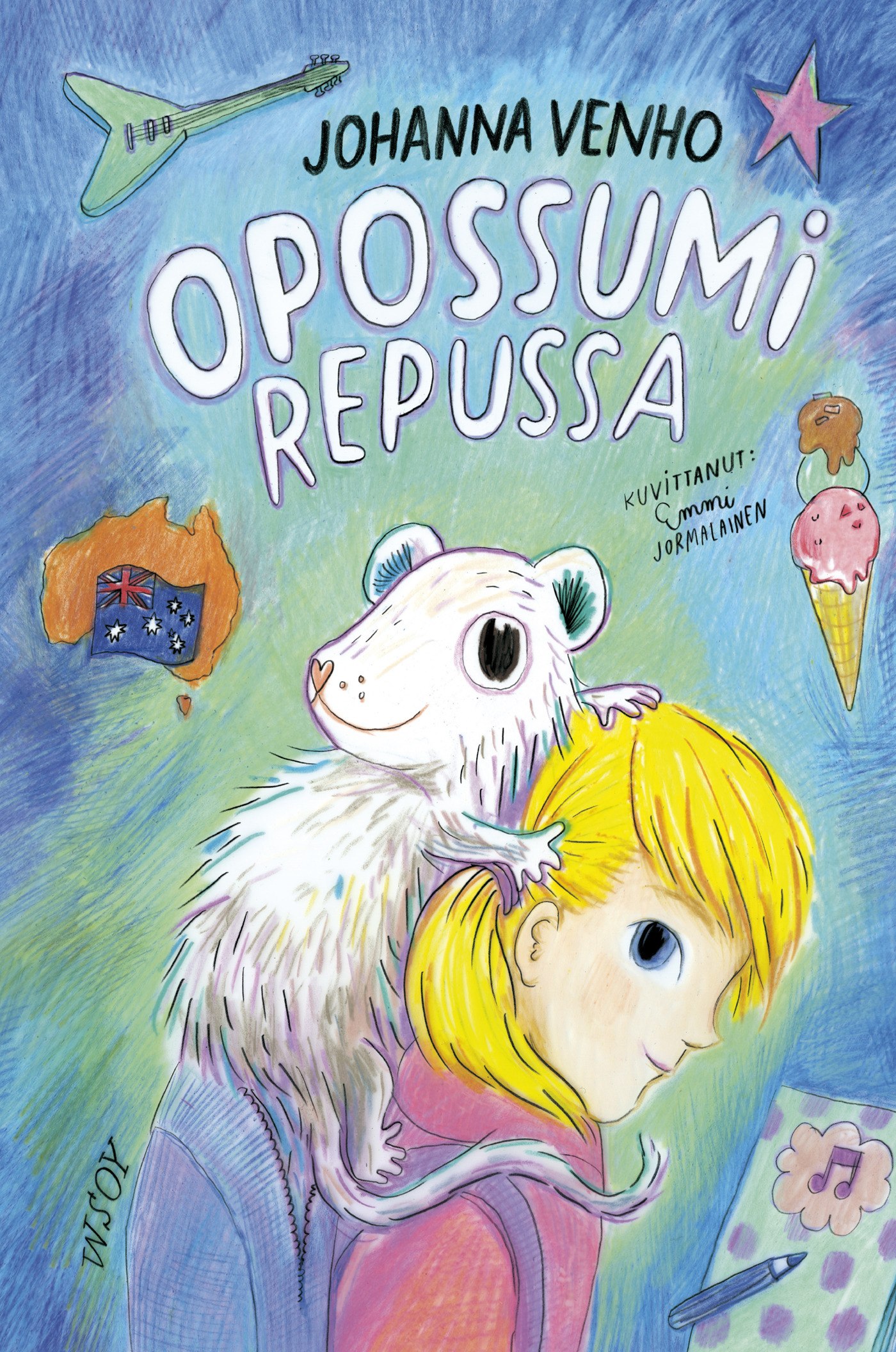 Venho, Johanna - Opossumi repussa, e-kirja