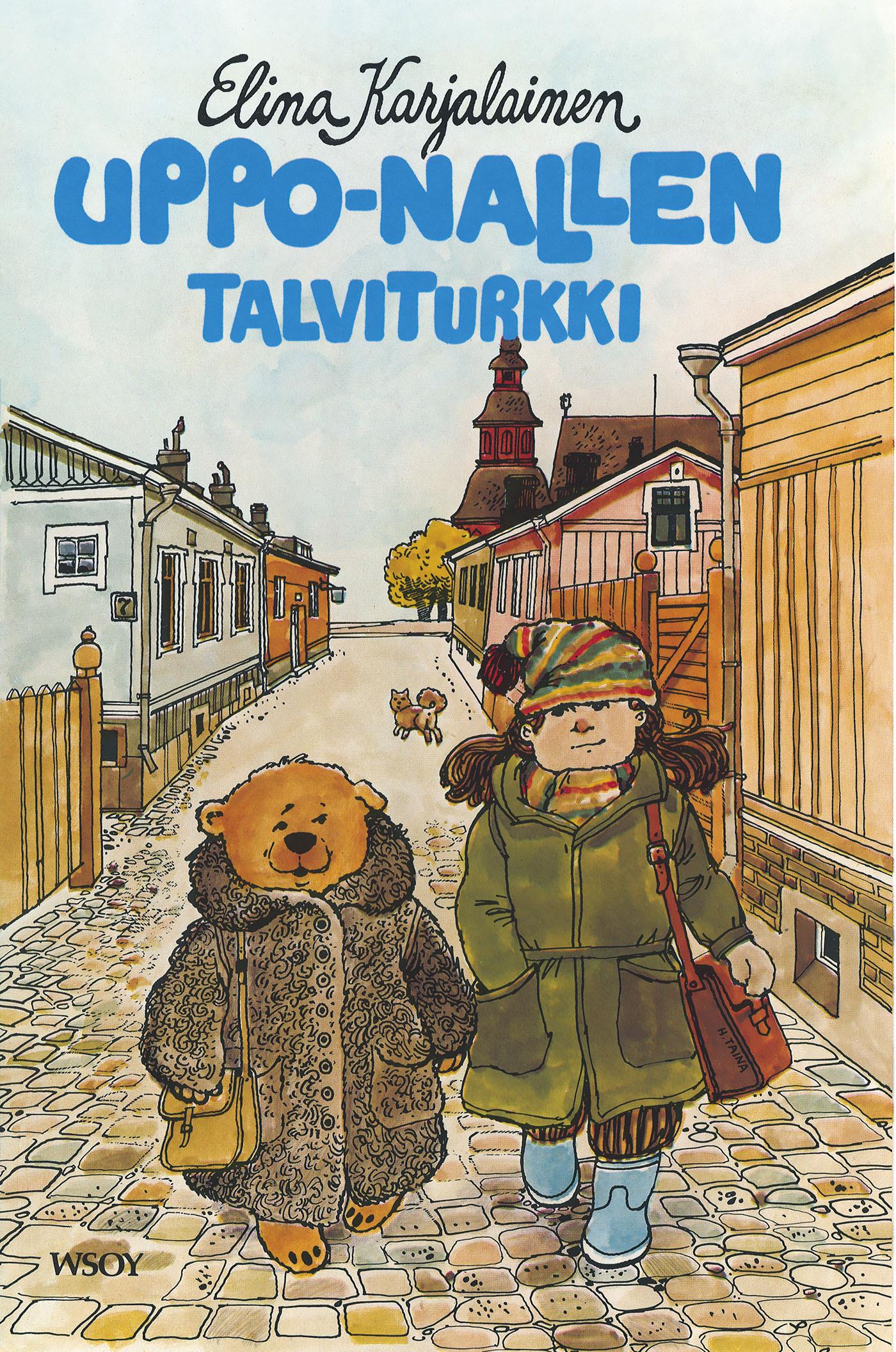 Karjalainen, Elina - Uppo-Nallen talviturkki, e-kirja