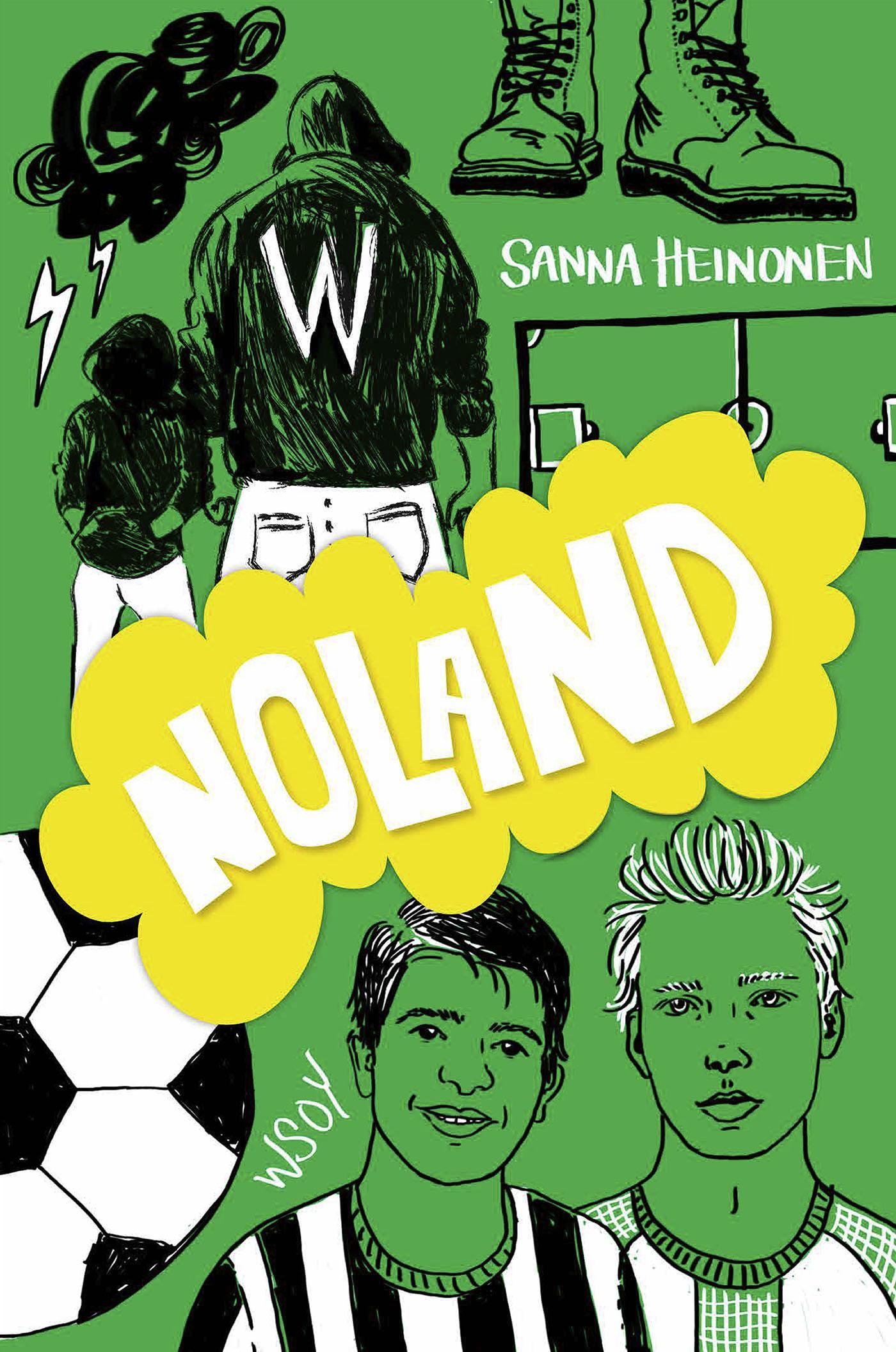 Heinonen, Sanna - Noland, e-kirja