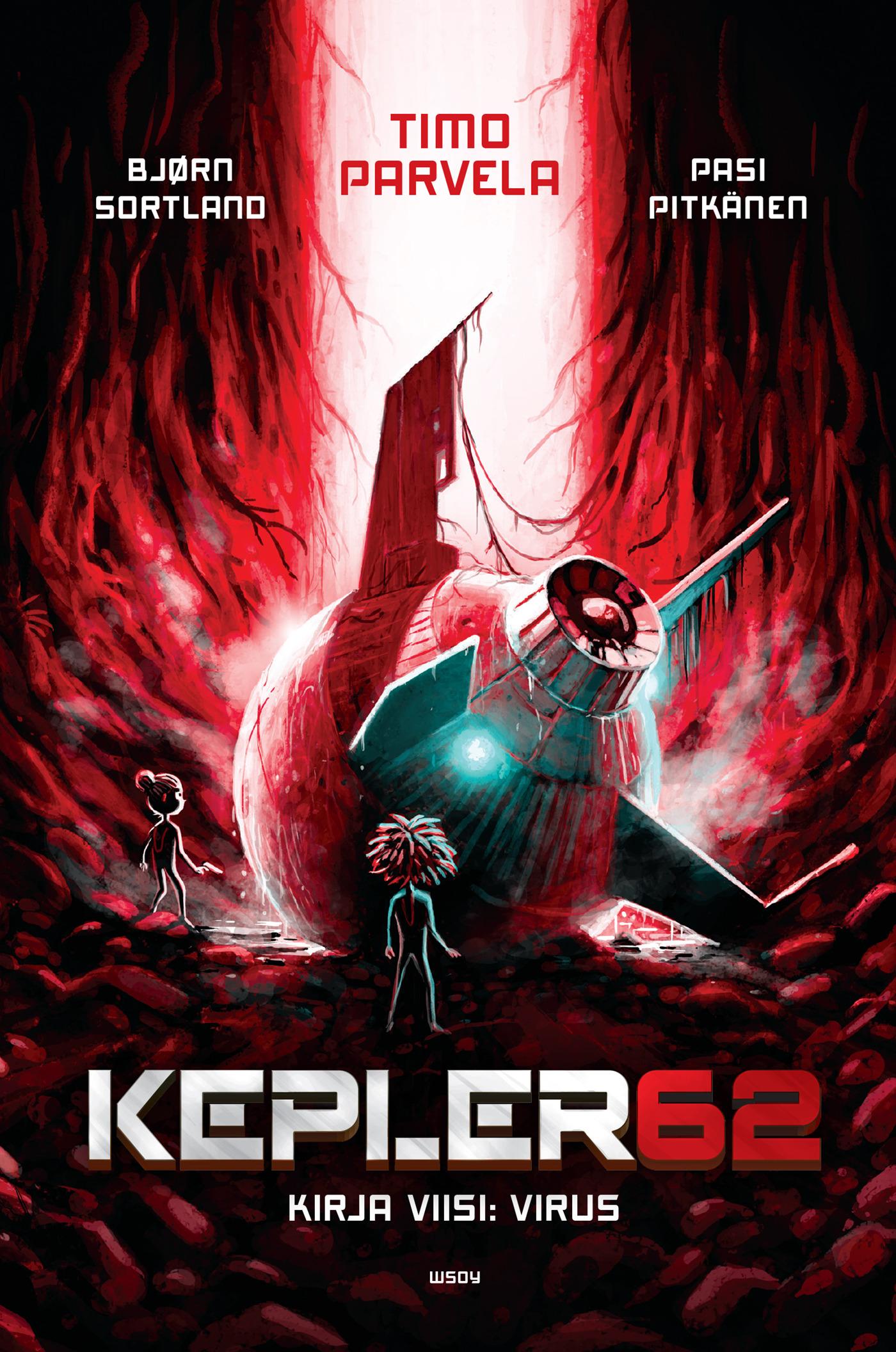 Parvela, Timo - Kepler62 Kirja viisi: Virus, e-kirja