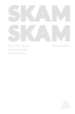 Andem, Julie - SKAM - Kausi 2: Noora, ebook