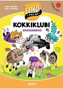 Supinen, Miina - Kokkiklubi: Siivoushirviö: Lukupalat, e-kirja
