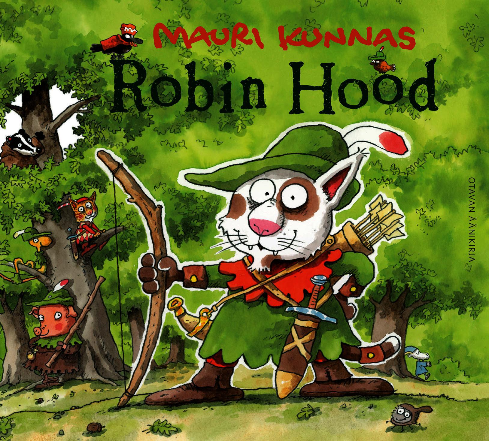 Kunnas, Mauri - Robin Hood, äänikirja
