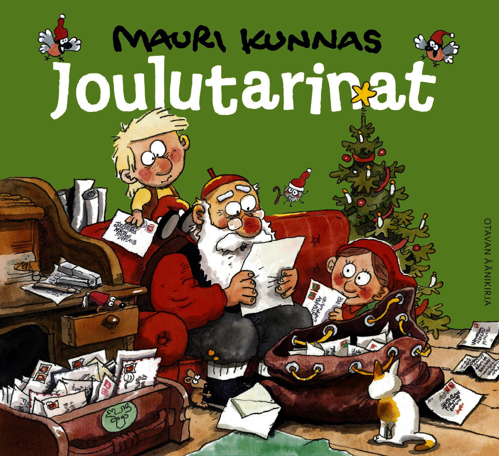 Kunnas, Mauri - Joulutarinat, äänikirja