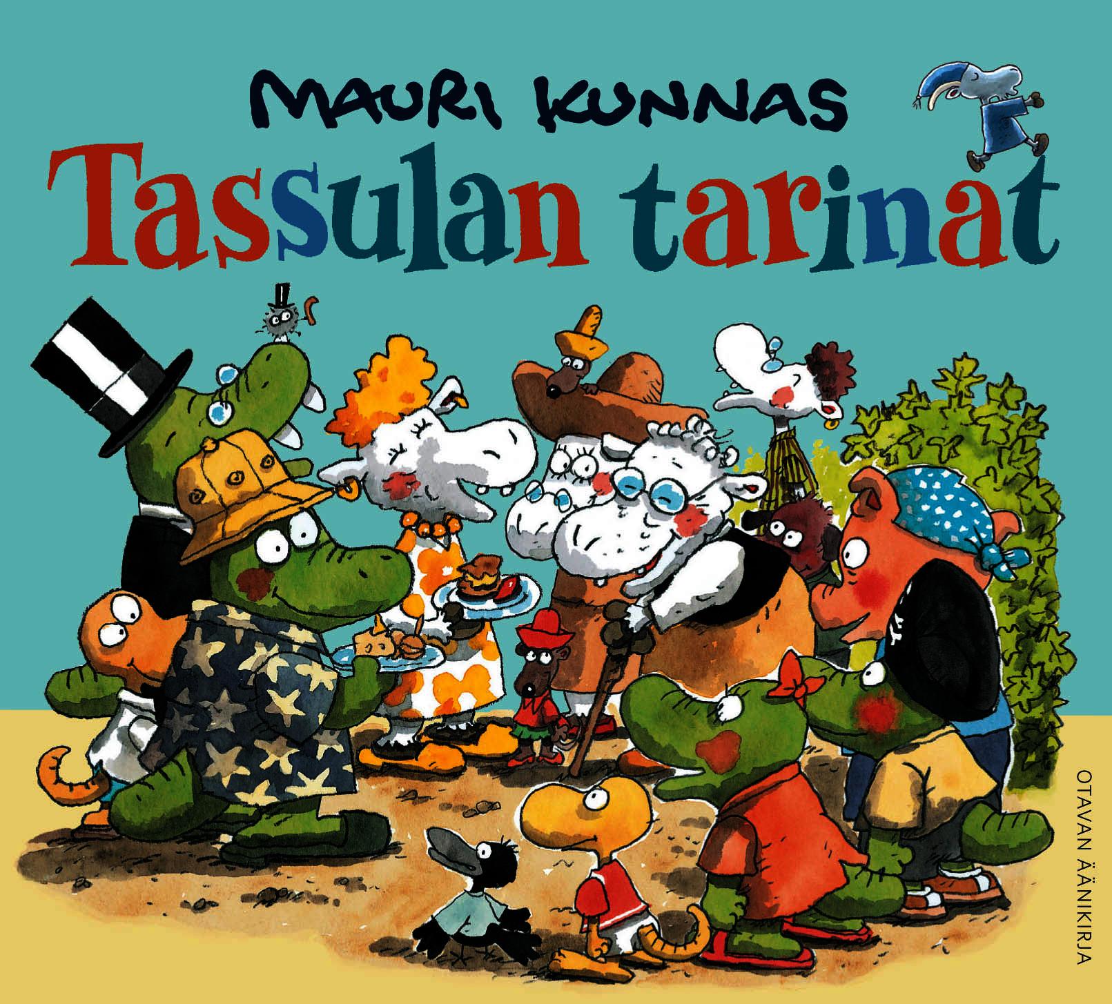 Kunnas, Mauri - Tassulan tarinat, äänikirja