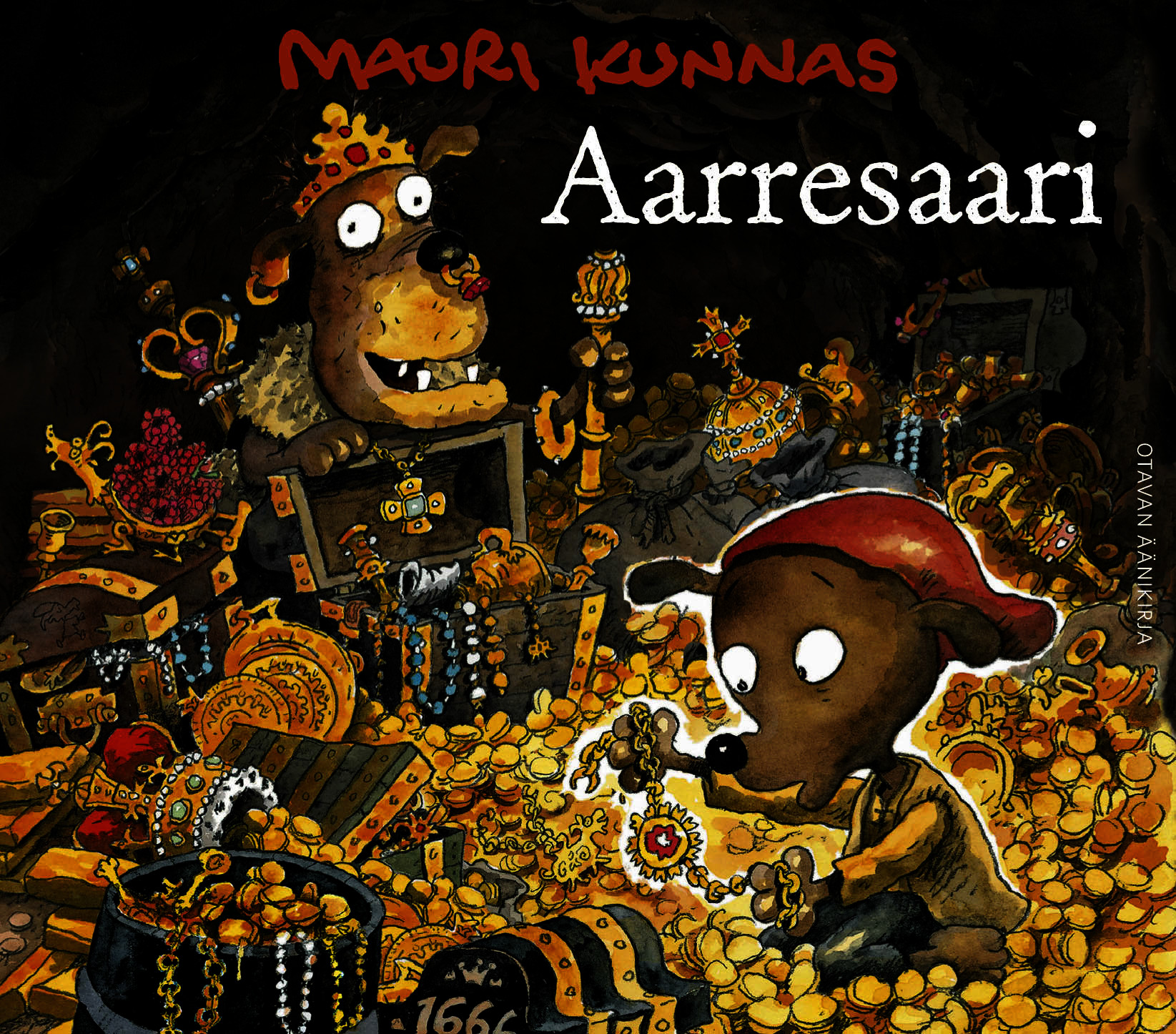 Kunnas, Mauri - Aarresaari, äänikirja