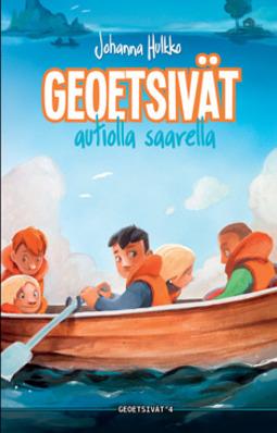 Hulkko, Johanna - Geoetsivät autiolla saarella, äänikirja