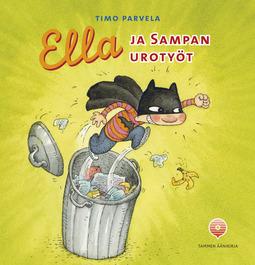 Parvela, Timo - Ella ja Sampan urotyöt, äänikirja