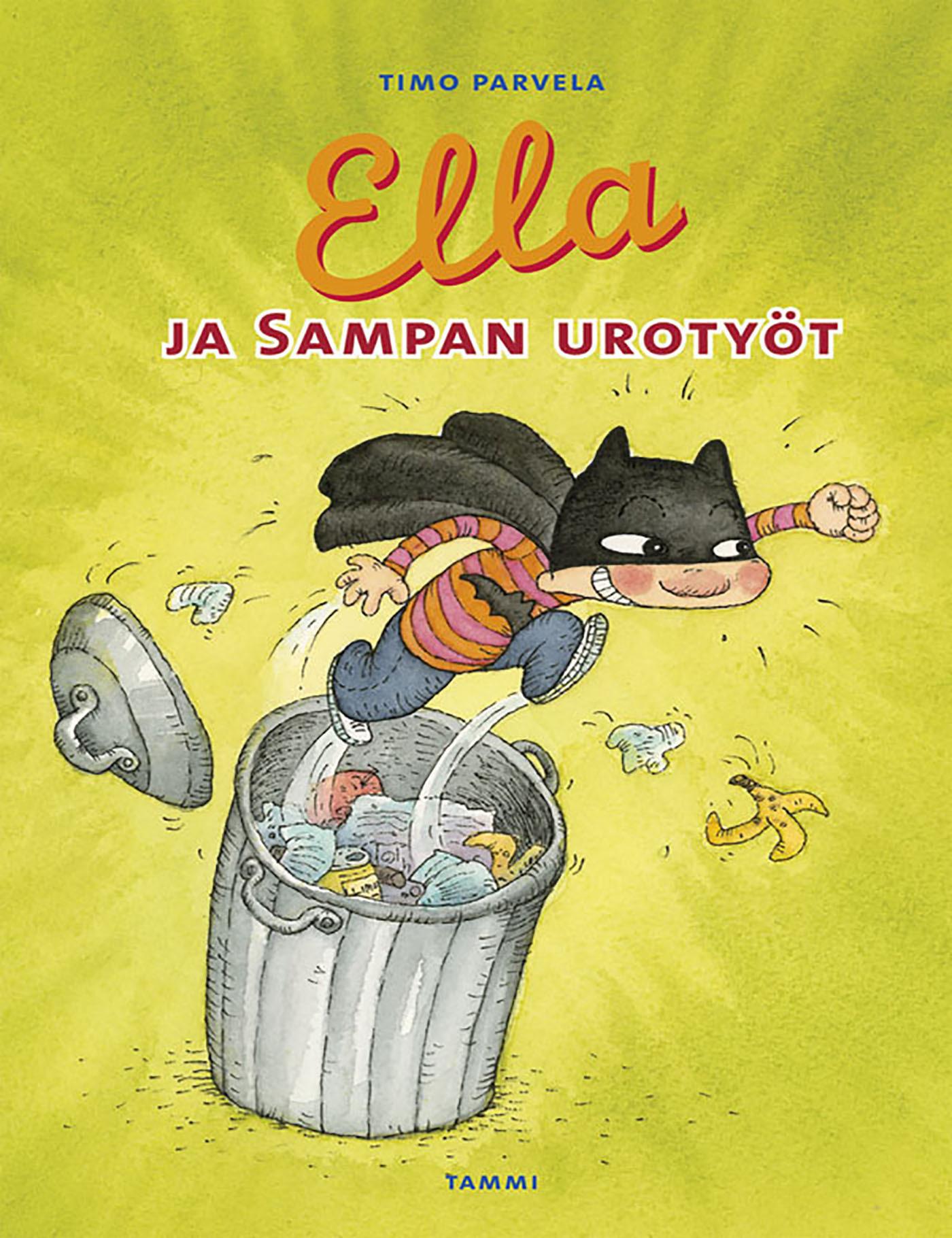 Parvela, Timo - Ella ja Sampan urotyöt, e-kirja