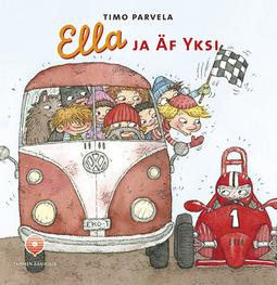 Parvela, Timo - Ella ja Äf Yksi, äänikirja